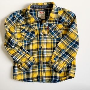 Levi's Flannel Size 24 Month